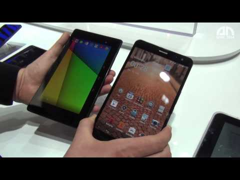 Huawei MediaPad X1 7.0 vs. Nexus 7 (2013) - Hands-On-Vergleich - MWC 2014 - androidnext.de
