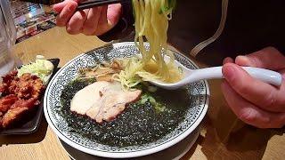 【丸源ラーメン】 お気に入りの磯海苔塩ラーメンを食べてきた