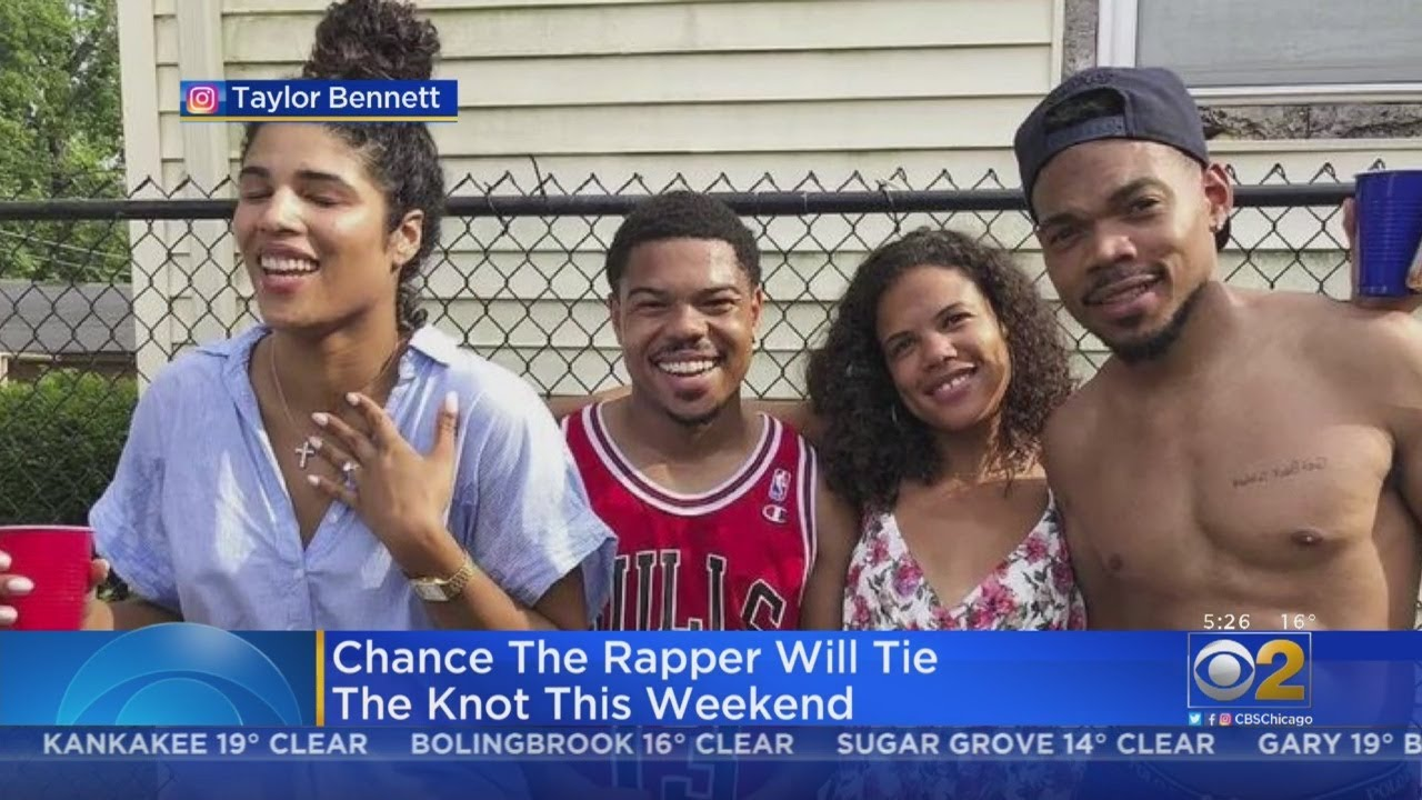 Chance The Rapper married longtime love Kirsten Corley over the weekend