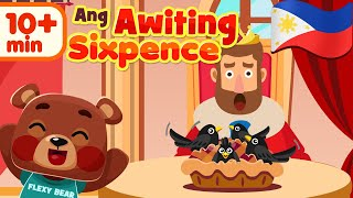 Sing A Song of Sixpence in Filipino | Awiting Pambata Compilation Song