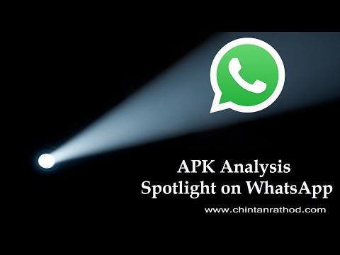 APK Analysis : Spotlight on WhatsApp | How to use APK Analyzer tool?
