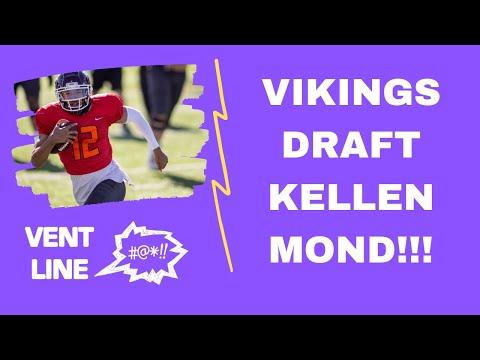 Minnesota Vikings draft Kellen Mond at the NFL Draft! – VENT LINE