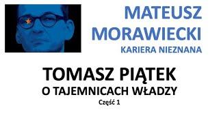 Mateusz Morawiecki kariera nieznana cz.1