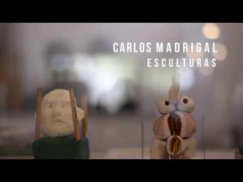 Carlos Madrigal, esculturas