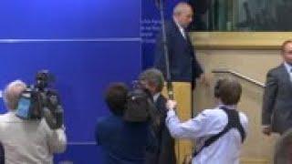 EU parliament chief: No new proposals from UK