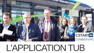 Sortie de l'Application Tub (Transports Urbains Briochins)