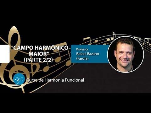 Harmonia Funcional - Campo Harmônico Maior - Parte 2/2 (AULA GRATUITA)