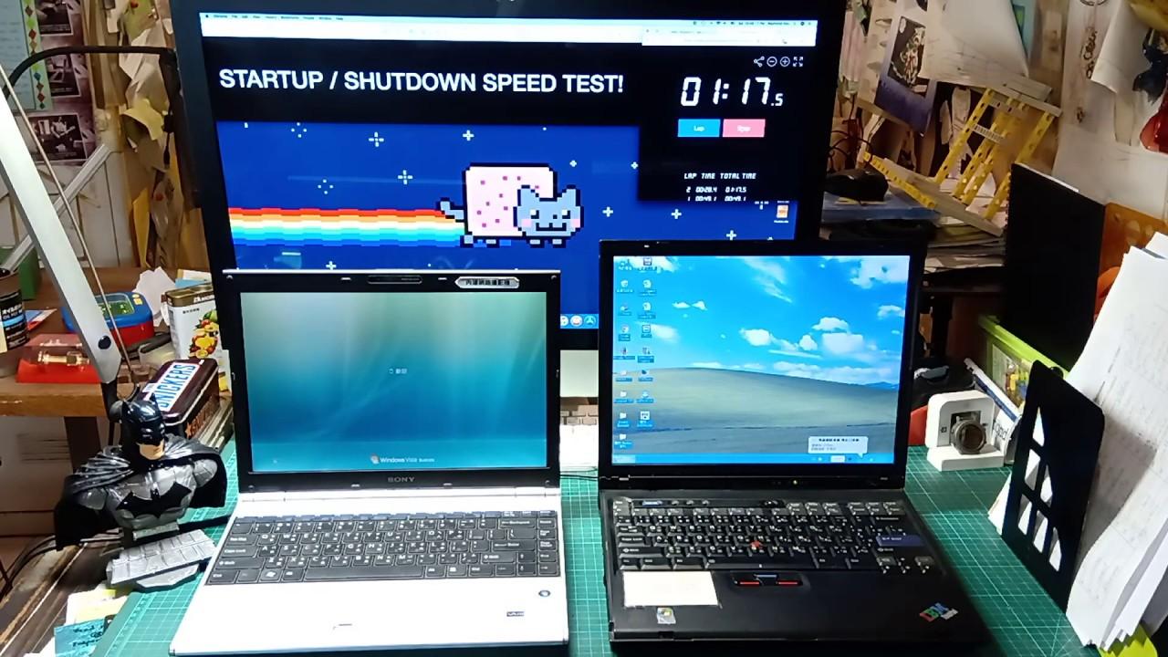 laptop slow to startup and shutdown