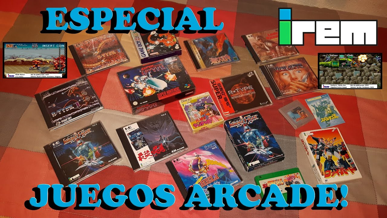 Especial Sobre Irem Sus Mejores Juegos Arcade Grandes Companias De