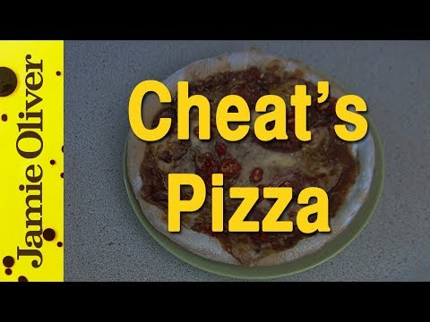 Jamie Oliver's fantastic cheat's pizza by EAT IT!