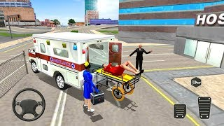 Ambulance Game City Rescue 2018 - Emergency Driver Simulator - Android Gameplay FHD