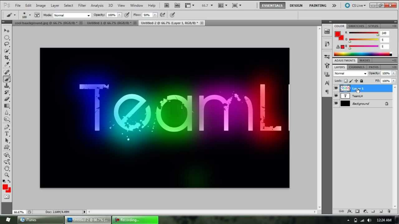 How To Add Glow To Your Text In Paint Net