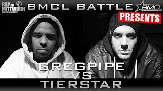 BMCL RAP BATTLE: TIERSTAR VS GREGPIPE (BATTLEMANIA CHAMPIONSLEAGUE)