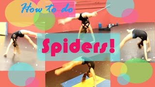 How To Do A Spider Advanced Acro Trick