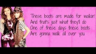 Olivia Holt-These Boots Are Made For Walkin