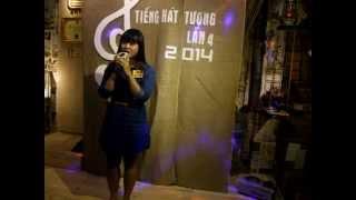 SBD THT075 Nguyễn Hoàng Thúy An với bài hát dự thi Còn thương rau đắng mọc sau hè