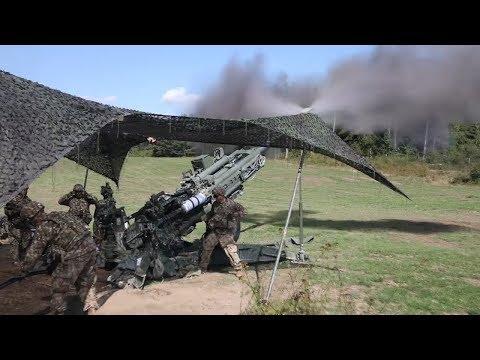 Soldiers Send Rounds Downrange - SJ19