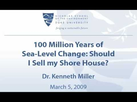 100 Million Years of Sea-Level Change: Should I Sell my Shore House?