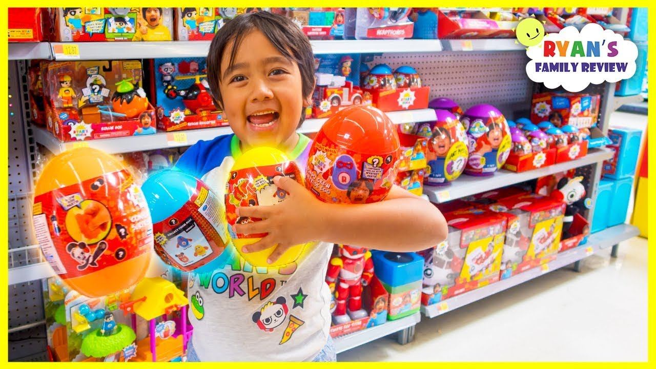 Surprise Ryan With New Ryan S World Toys At Walmart