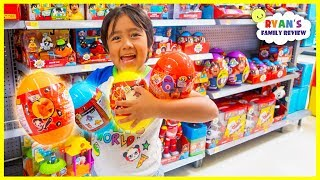 Surprise Ryan with New Ryan's World Toys at Walmart!!!!