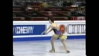 Ирина Слуцкая 2004 World Figure Skating Championships   SP