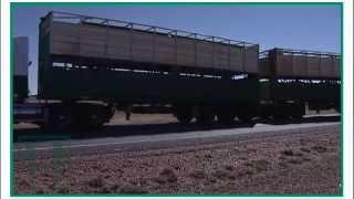 haulmark s outback truckers visit johnson bros transport of tambo