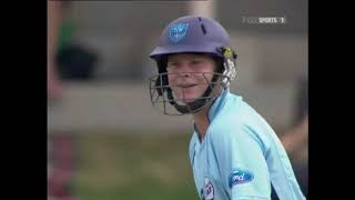 10 years ago, young Steve Smith in 2009 smashing his 1st 50 for NSW, with 5 monster sixes