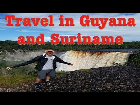 Epic Adventures in Guyana and Suriname. Travel in Guyana and Suriname