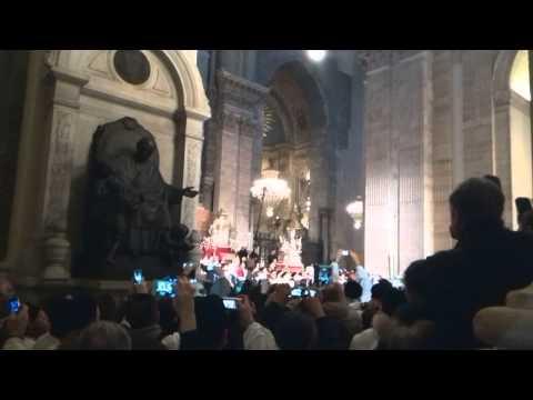 S. Agata 2014 - fine della messa dell'aurora
