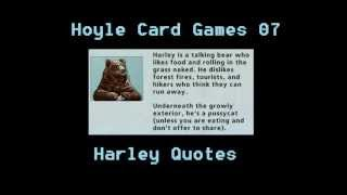 Hoyle Card Games - Harley Quotes