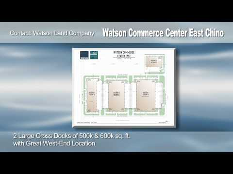 Watson Commerce Center  E. Chino
