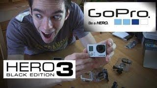 Unboxing GoPro Hero 3 Black et Comparatifs Hero 2 !