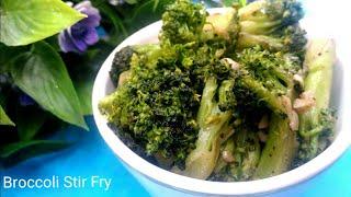 Broccoli Garlic Stir Fry Recipe lll Broccoli Recipe lll by sumaki cooking