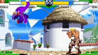 Repeat youtube video Street Fighter Alpha 3 Upper - (GBA) - [Guile] - Completo