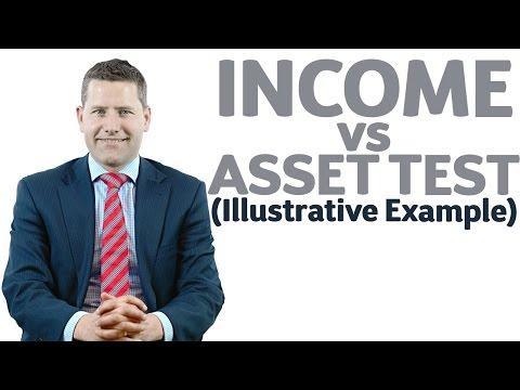 26 Income vs Asset Test (Illustrative Example)