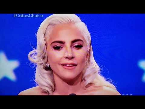 Lady Gaga's Critic's Choice Awards  Inspiring Acceptance Speech Mp3