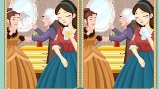 Cinderella: Find The Differences - Mobile App - video for sweet little girls - fairy tale game