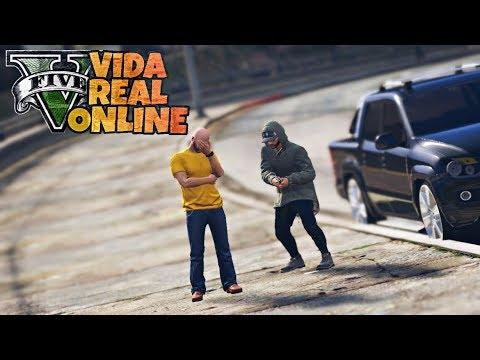GTA V : VIDA REAL | VOU VIRAR POLICIAL? UM FAVOR PARA UM AMIGO | EP. 09