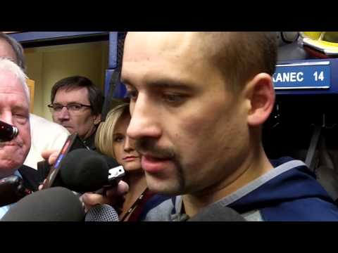 Tomas Plekanec after the Habs 3-2 victory over the Penguins
