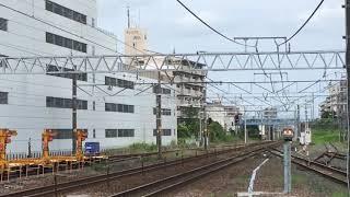 [名鉄新型甲種輸送‼️]DE10–1557号機+名鉄9500系 9501f 刈谷駅 通過‼️