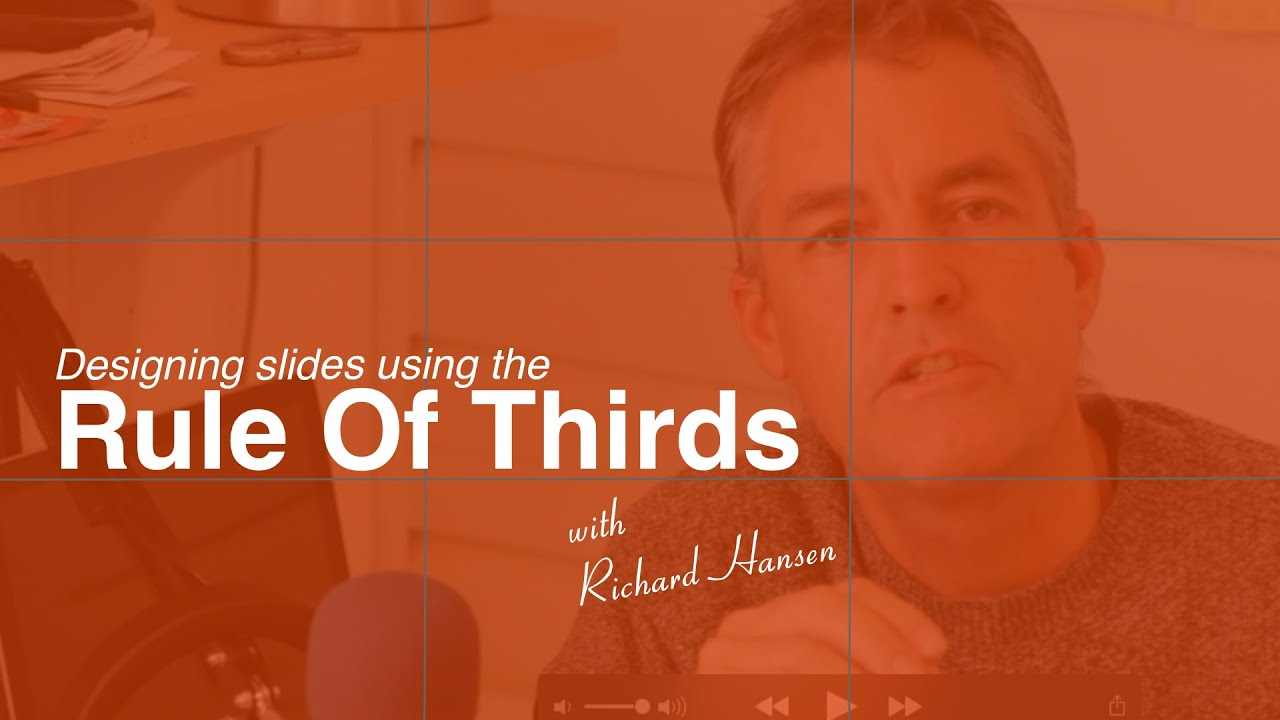 slide design using the rule of thirds youtube