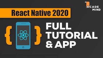 React Native Tutorial for Beginners - Crash Course 2020