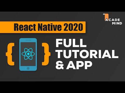 React Native Tutorial For Beginners - Crash Course 2019