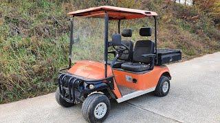 농업용 전기차 골프카트…