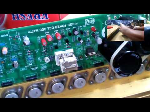 Power Amplifier 300 watt upgrade ke 600 watt
