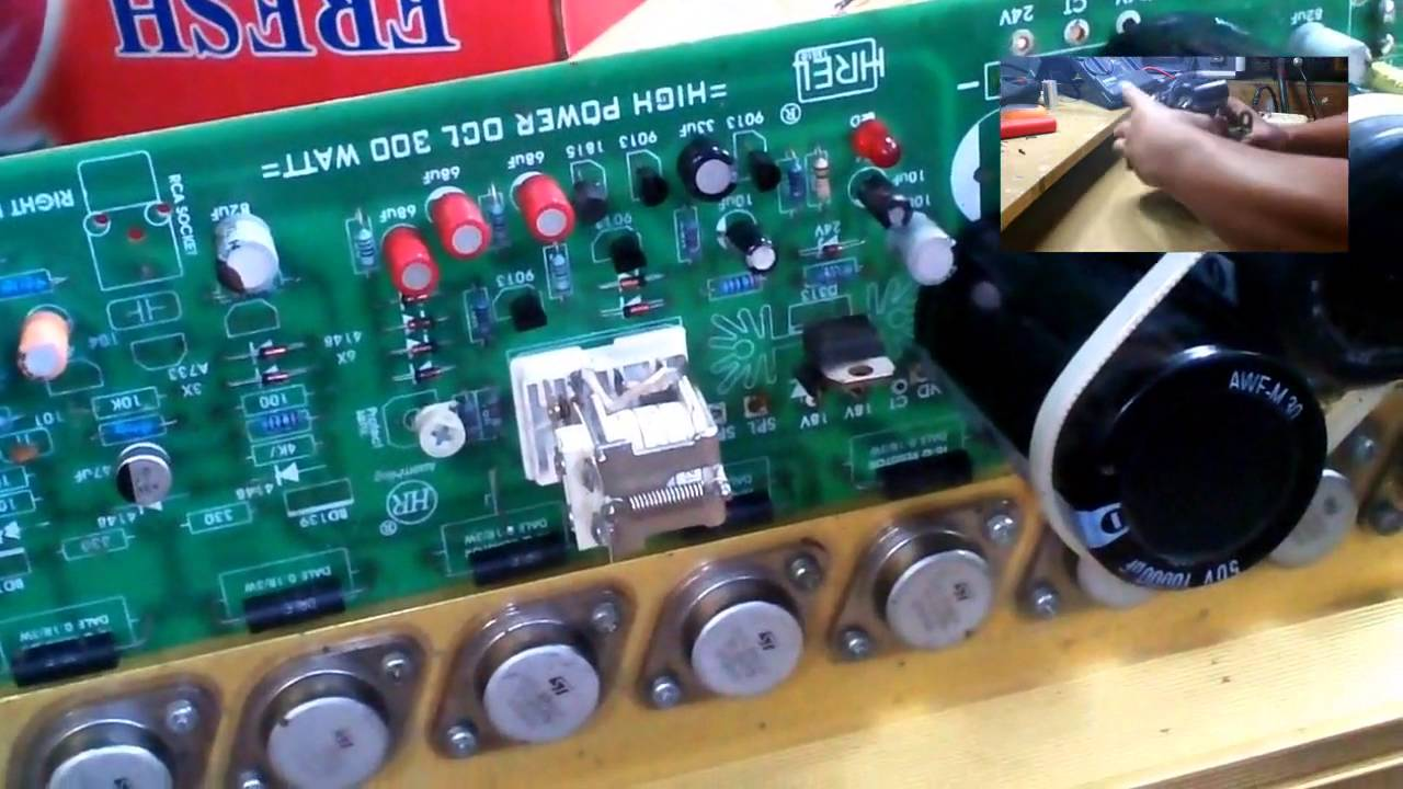 Power Amplifier 300 Watt Upgrade Ke 600 Youtube 20 Circuit