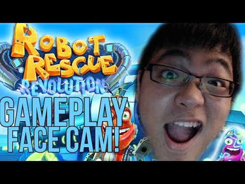 New Webcam! - Robot Rescue Revolution Gameplay