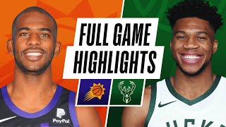 Game Recap: Suns 128, Bucks 127