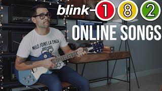Blink-182 - Online Songs (Guitar Cover)