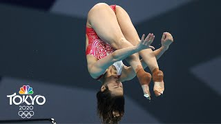 Shi Tingmao in a class of her own in women's 3m springboard | Tokyo Olympics | NBC Sports